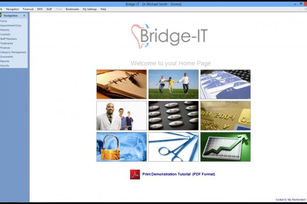 Bridge-IT Dental Software Screenshot - Software 4 Dentists
