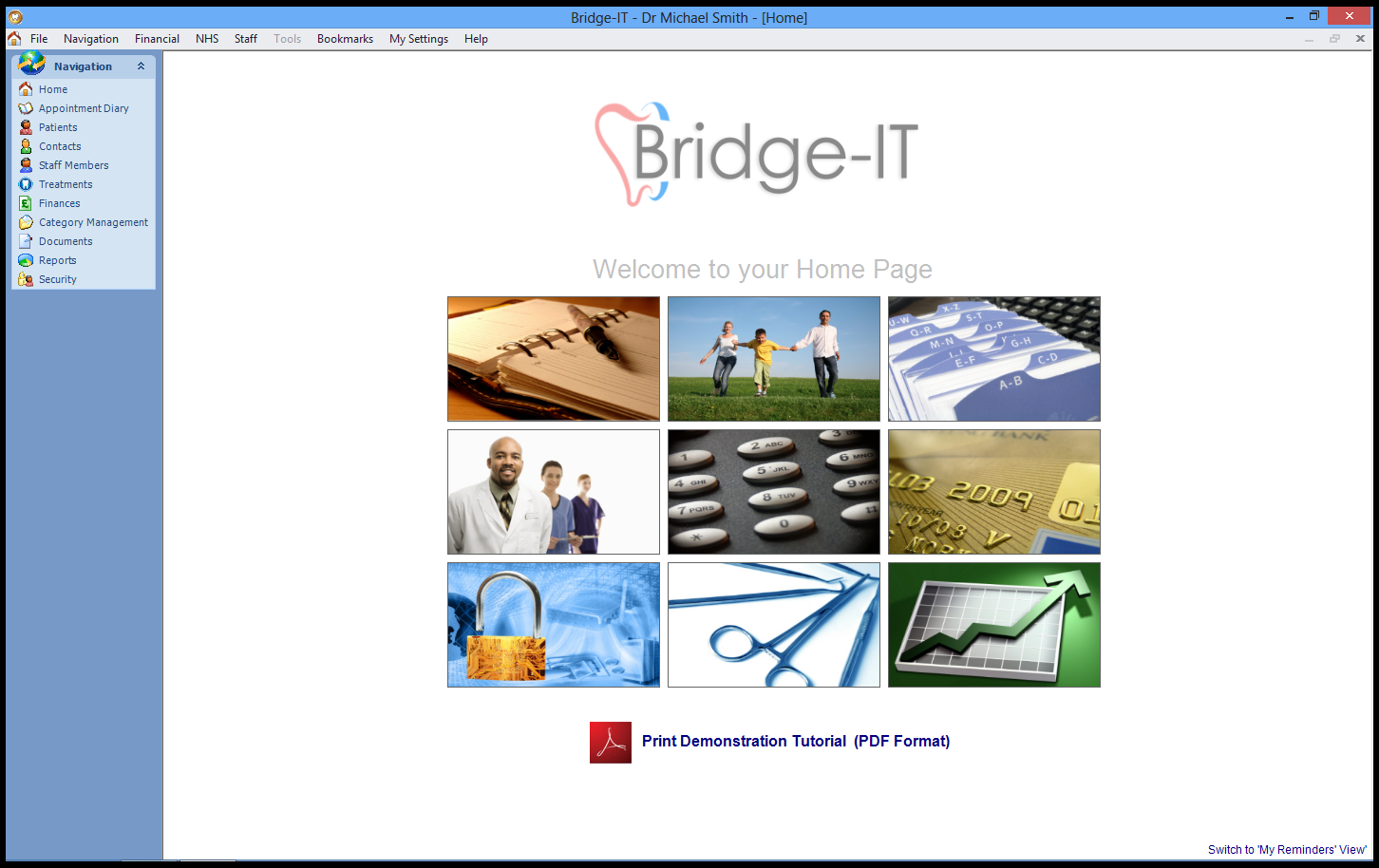 Bridge-IT Dental Software Screenshot - Software 4 Dentists